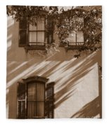 Savannah Sepia - Windows Fleece Blanket