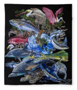 Save Our Seas In008 Fleece Blanket