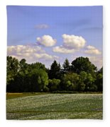 Savie Island Flower Garden Fleece Blanket