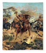 Saving The Guns At Colenso, 1899 Fleece Blanket