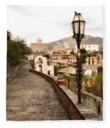 Savoca Italy Fleece Blanket