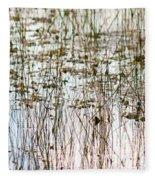 Sawgrass Swamp Panorama Fleece Blanket