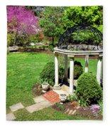 Sayen Garden Spring Fleece Blanket