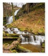 Scaleber Force Waterfall Fleece Blanket