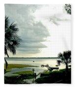 Scallop Waters Fleece Blanket