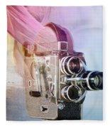 Scarf Camera Fleece Blanket