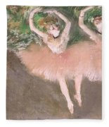Scene De Ballet Fleece Blanket