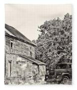 Scene From The Past Fleece Blanket