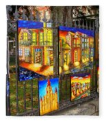 Scenes Of Nola Fleece Blanket