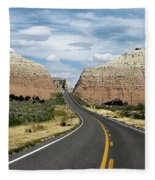 Utah's Scenic Byway 12 - An All American Road Fleece Blanket
