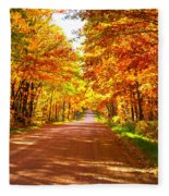 Scenic Tour Fleece Blanket