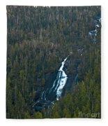 Scenic Waterfall Fleece Blanket