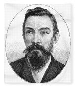 Schalk Willem Burger (1852-1918) Fleece Blanket