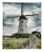 Schellemolen Windmill Fleece Blanket
