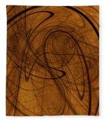 Schizophrenia Of Modern Ethical Theories  Fleece Blanket by Jeff Iverson
