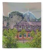 10290 Schloss Clemenswerth 10 Fleece Blanket