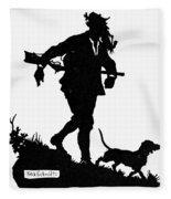 Schmidt The Hunter Fleece Blanket