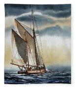 Schooner Fleece Blanket