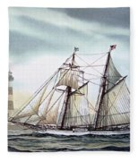 Schooner Light Fleece Blanket