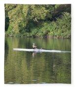 Schuylkill Rower Fleece Blanket