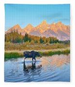 Schwabacher Morning Travels Fleece Blanket