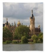 Schwerin Palace - Germany Fleece Blanket