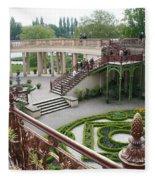 Schwerin The Orangery Fleece Blanket