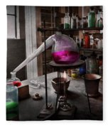 Science - Chemist - Chemistry For Medicine  Fleece Blanket
