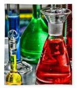 Science - Lab Glass Fleece Blanket