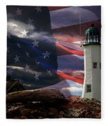 Scituate Strong Protecting American Shoreline Fleece Blanket