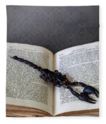 Scorpion Fleece Blanket
