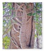 Scorpion Tree Fleece Blanket