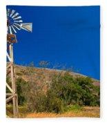 Scorpion Windmill Fleece Blanket