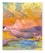 Scotland 27 Bis Fleece Blanket