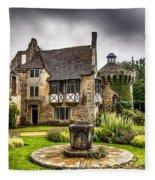 Scotney Castle 4 Fleece Blanket