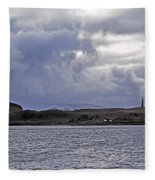 Scottish Storm Fleece Blanket