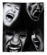 Scream Fleece Blanket