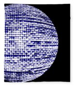 Screen Orb-18 Fleece Blanket