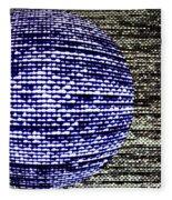 Screen Orb-23 Fleece Blanket