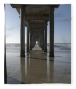 Scripps Pierla Jolla California Fleece Blanket
