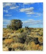 Scrubland Fleece Blanket