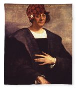 Scumbag Columbus Fleece Blanket