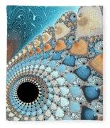Sea And Sand Fleece Blanket
