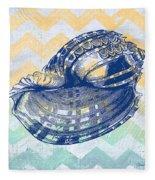 Sea Shell-c Fleece Blanket