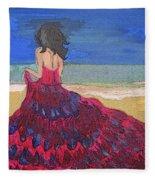 Sea-escape Fleece Blanket