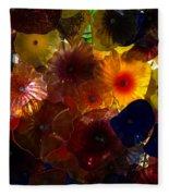 Sea Flowers And Mermaid Gardens Fleece Blanket