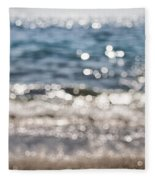 Sea Glitter Fleece Blanket