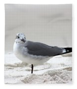 Sea Gull Fleece Blanket