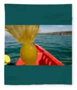 Sea Kayaking Find Fleece Blanket