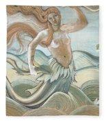 Sea Nymph Fleece Blanket